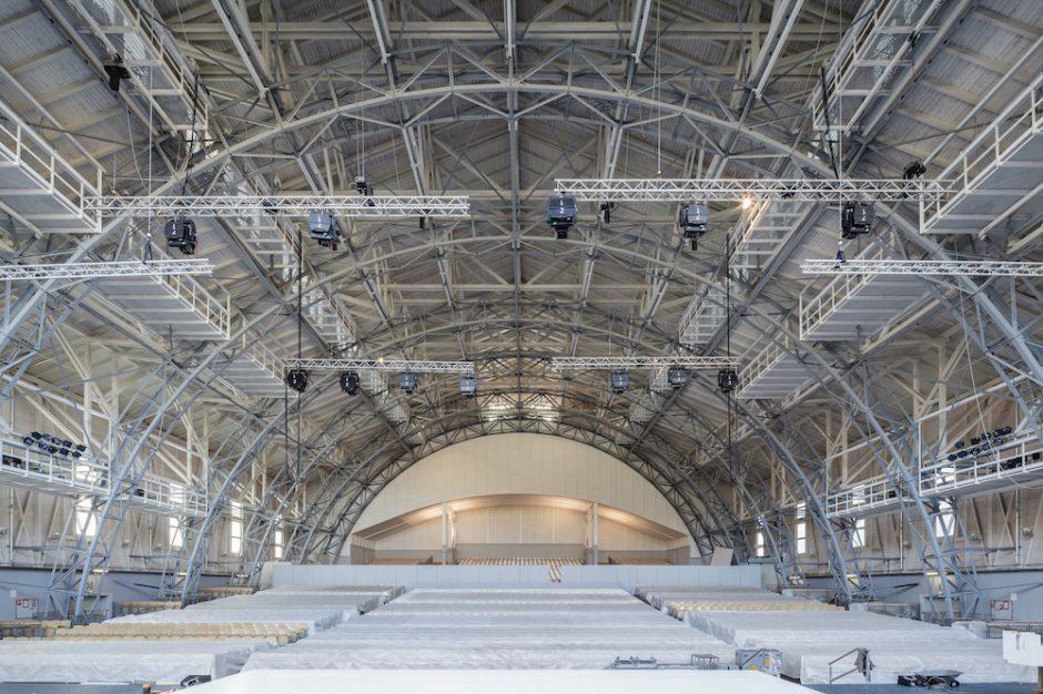 Zuschauerhalle. Fotograph: Markus Dobmeier, München